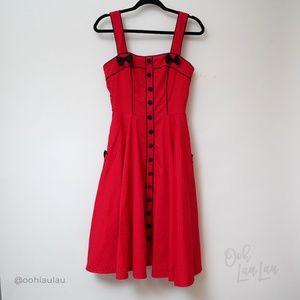 Hell Bunny Dresses - Hell Bunny 50'S Martie Polka Dot Dress